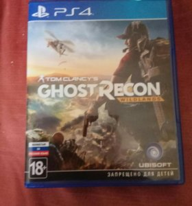Игра на ps4 Tom Clancy's Ghost Recon Wildlands