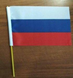 Флажки, флаг российской федерации