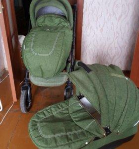 детская коляску 2в1