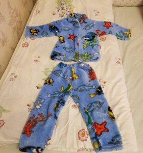 Утеплённая пижама