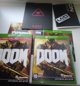 Диск doom. Xbox one
