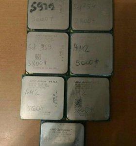 Процессоры amd am2 am3 754 939
