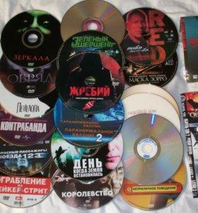 Фильмы на DVD дисках, 24 шт.