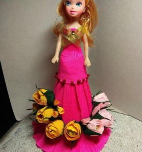 Сладкий подарок Кукла Барби.