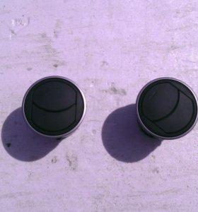 Воздуховоды мазда 3 BL. 2 шт.