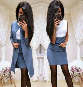 Жакет и платье новое