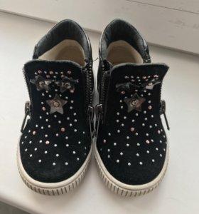Десткие осенне-весенние ботиночки для девочки