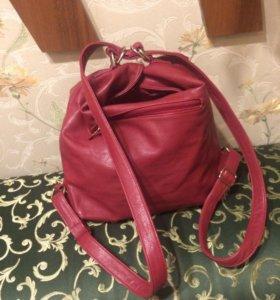 Сумка - рюкзак женская