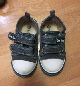 Обувь детская 24,25 размера для мальчика.