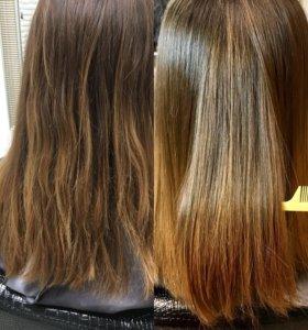 Кератиновое Бразильское Выпрямление Волос