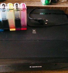 Продаю цветной принтер с Снпч