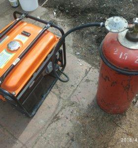 Переоборудование бензиновых генераторов на газ