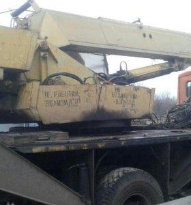Автокран 14 метров 14 тонн