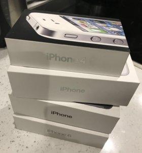 Коробки от iPhone 4, 6, 7