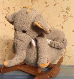 Игрушка качалка слон