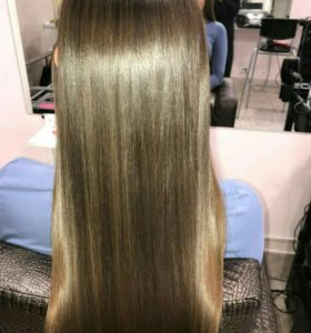 Ботокс, кератиновое выпрямление волос