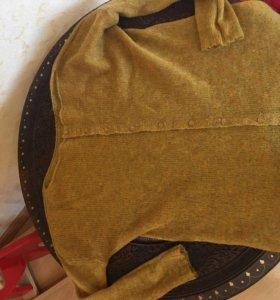 Вязаная мягкая кофта 40-44 р