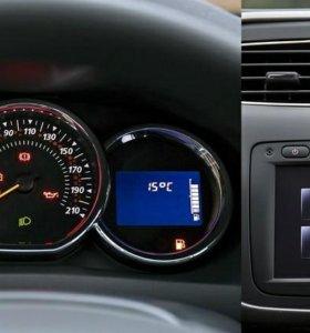 Активация БК Renault