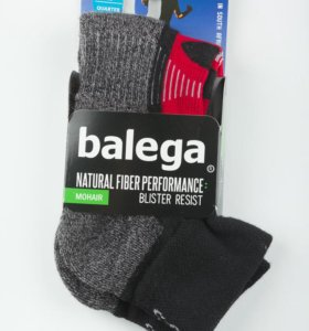 Носки от мозолей Balega Blister Resist Black Red L