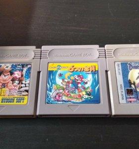 Картриджи оригинальные Game Boy