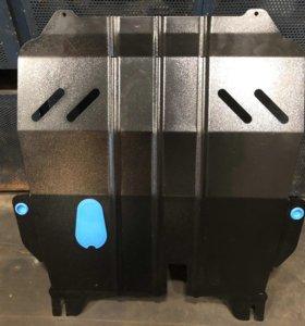 Защита двигателя и защита трубок топлив Лада хрей