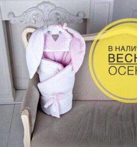 Конверт-одеяло на выписку, 1000₽ +торг