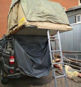 Палатка на крышу Стократ