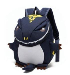 Рюкзак дракоша синий