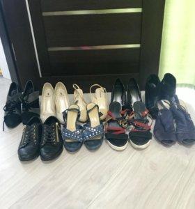 СРОЧНО!! Женская обувь пакетом (9 пар)