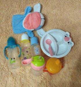Первая посуда для малыша