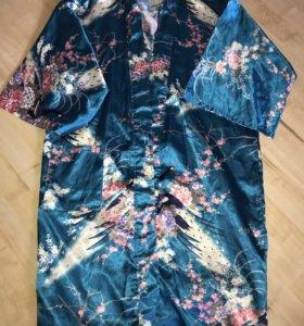 Продам шелковый халат