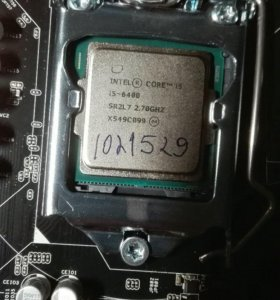 Процессор i5 6400