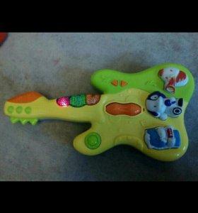 Гитара музыкальная, игрушка