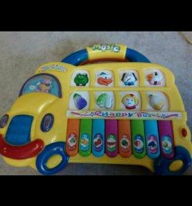 Музыкальная игрушка, пианино