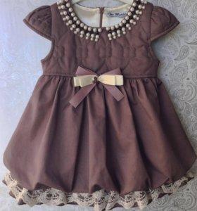Новые платья от 1 до 5 лет.