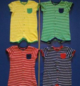 Одежда  комбинезоны 74-86