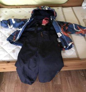 Куртка+штаны на лямках