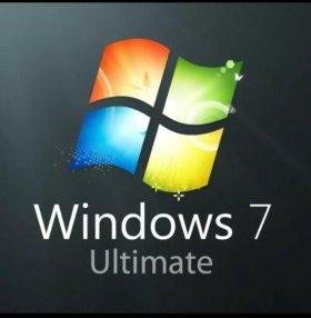 Windows7 ultimate (Установочный диск)