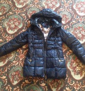 Пальто зимнее, тёплое