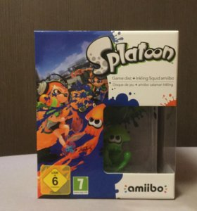 Amiibo Splatoon Wii U Коллекционное издание