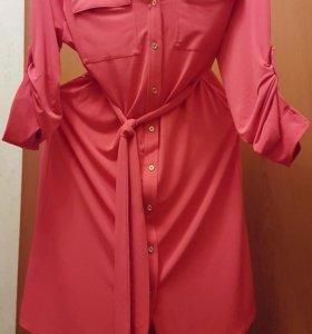 Платье-рубашка Calvin Klein