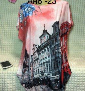 Блуза,размер 54-60