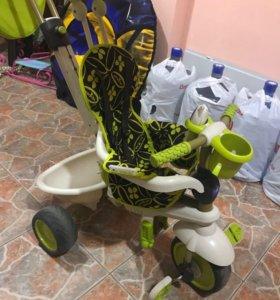Детский велосипед 3-х колёсный Smart-Trike