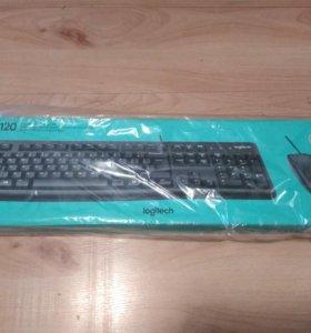 Клавиатура Logitech MK120