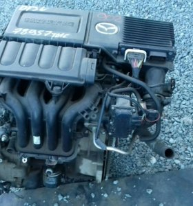 Двигатель Mazda demio на запчасти