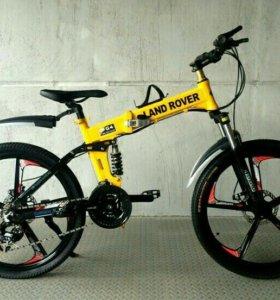 Велосипед на литых дисках новый