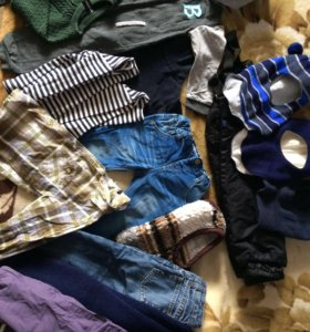 Сумка вещей для мальчика 2-4 лет