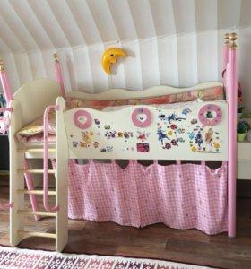 Детская кровать «Принцесса'