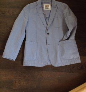Мужской фирменный летний пиджак рр 52