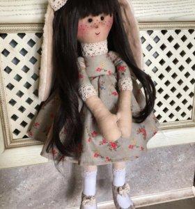 Авторская кукла Заюшка